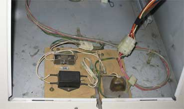 Power wiring section